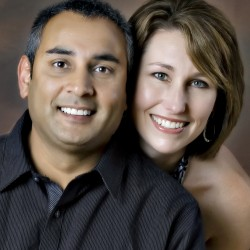Dharmesh and Sheryl